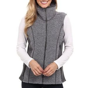 Kuhl Kozet Ash Gray Wool Blend Vest
